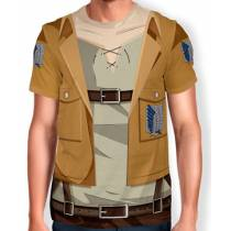 Camisa Full Print Uniforme -Tropa de Exploracao - snk