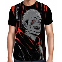 Camisa Full  Jujutsu Kaisen - Exclusiva Sukuna