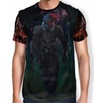 Camisa Full Print Goburin Sureiyā - Goblin Slayer