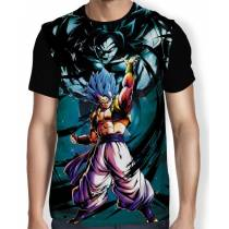 Camisa Full Blue Gogeta - Dragon Ball Super Broly