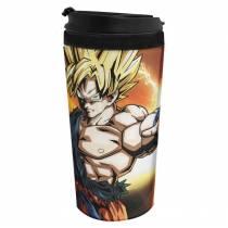 Copo Térmico Goku SSJ - Dragon Ball Z