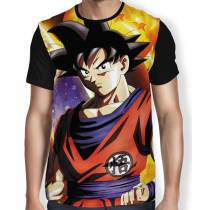 Camisa Full Ready Goku - Dragon Ball Super