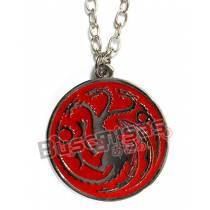 GOT-06 - Colar Medalha Targaryen