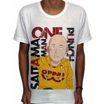 Camisa SB - Happy Saitama - One Punch Man