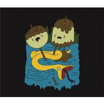 Mouse Pad - HDA Camisa de Rock da Jujuba - Adventure Time