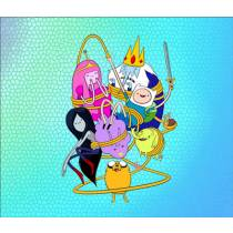 Mouse Pad - HDA Amarrados - Adventure Time