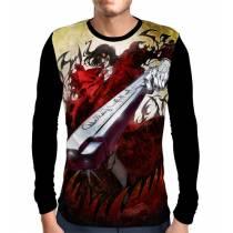 Camisa Manga Longa Alucard - Hellsing