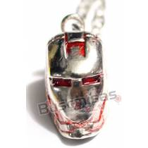 HF-03 - Colar Mascara Homem Ferro