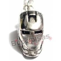 HF-04 - Colar Mascara Homem Ferro
