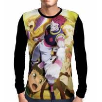 Camisa Manga Longa MACHI - GON - HISOKA - HUNTER X HUNTER