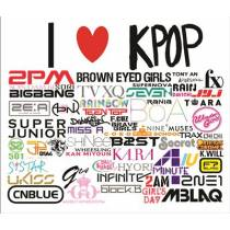 Mouse Pad - I Love K-Pop