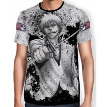 Camisa Full Print - Ichigo manga - Bleach