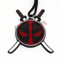 DPL-02 - Colar Deadpool com Espadas