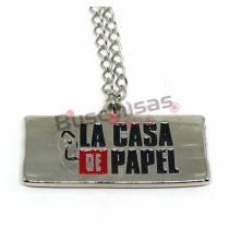 LCP-03 - Colar Logo - La Casa de Papel