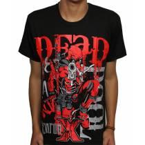 Camisa Deadpool - Deadpool weapon