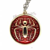 HA-06 - Colar Medalha Simbolo Homem Aranha