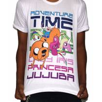 Camisa SB FINN/JAKE/JUJUBA/IRIS - Adventure Time