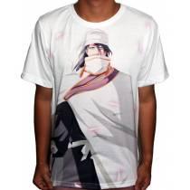 Camisa FULL Byakuya Kuchiki - Bleach - Branca