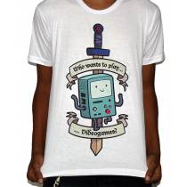 Camisa SB BMO - Adventure Time