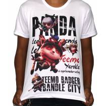 Camisa SB Teemo - League of Legends - LOL