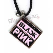 KPOP-25 - Colar Logo BLACKPINK - K-Pop