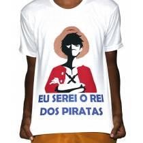 Camisa VA  - One Piece Luffy Rei dos Piradas