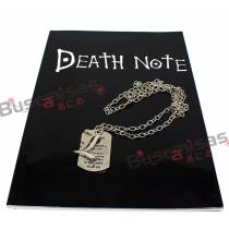 Kit Death Note Caderno + Colar L