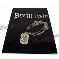Kit Death Note Caderno + Colar L