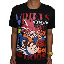 Camisa Dragon Ball - Goku Deus - Battle of Gods