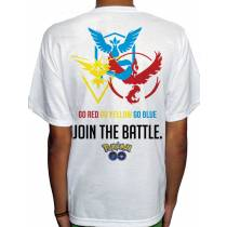 Camisa SB - JOIN THE BATTLE - Pokemon GO