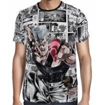 Camisa Full Print Mangá Jean Pierre Polnareff - Jojo's Bizarre Adventure
