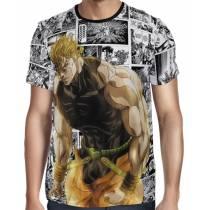 Camisa Full Print Mangá Power Dio - Jojo's Bizarre Adventure