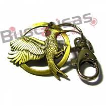 JV-02(CH) - Chaveiro Tordo em Chamas - Jogos Vorazes - Hunger Games