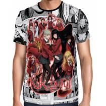 Camisa FULL Print Mangá - Kakegurui