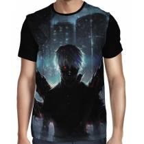 Camisa FULL Back Kaneki - Tokyo Ghoul