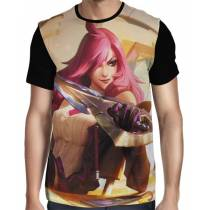 Camisa FULL Katarina Academia de Batalha - League of Legends