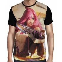Camisa FULL Katarina Academia de Batalha - League of Legends