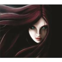 Mouse Pad - Dark Katarina - League of Legends