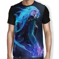 Camisa FULL Katarina - League of Legends