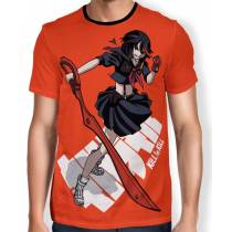 Camisa FULL Print Ryuko Fight - Kill la Kill