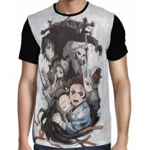 Camisa FULL Demon Slayer: Kimetsu no Yaiba