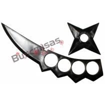 KIT Ninja Simples Asuma Sarutobi - Kunai Shuriken