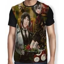 Camisa FULL Banquete Ciel e Sebastian - Kuroshitsuji - Black Butler