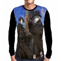 Camisa Manga Longa CIEL E SEBASTIAN - KUROSHITSUJI - BLACK BUTLER