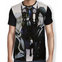 Camisa FULL Master - Kuroshitsuji - Black Butler