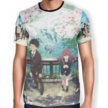 Camisa FULL Print Ishida e Shouko Nishimiya - Koe no Katachi