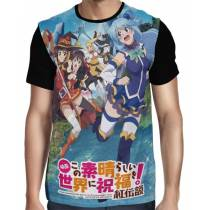 Camisa FULL KONOSUBA Movie - Kurenai Densetsu