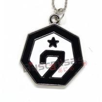 KPOP-26 - Colar Medalha GOT7 - K-Pop