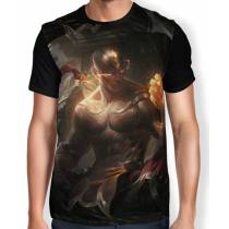Camisa FULL Lee-sin-punhos-divinos - League of Legends