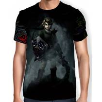 Camisa Full Print - Link - Legend Of Zelda
